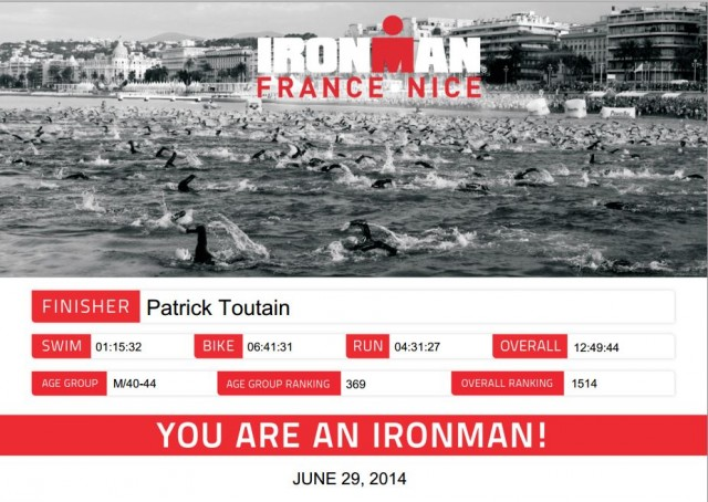 You're an IronMan !